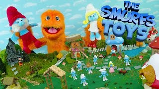 Fuzzy Puppet Smurfs Toys The Lost Village full movie 2017 😂 REVIEW for kids Toy Video Full Episode