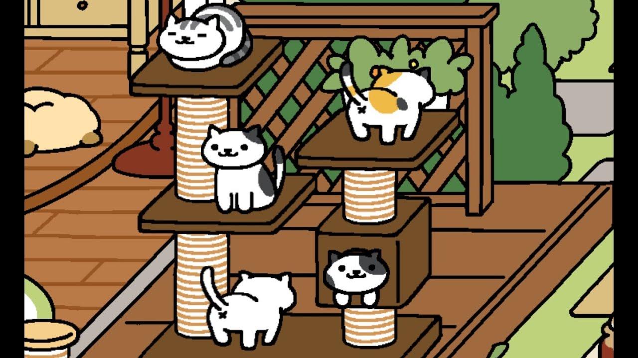 ねこあつめ neko atsume game kitty cat playview youtube