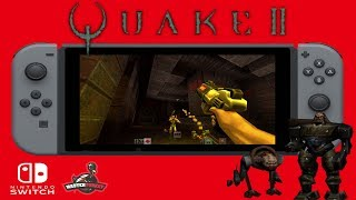 Quake II for Nintendo Switch (Homebrew)