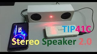How to Build 2.0 Speaker   Stereo Amplifier from TIP41C Transistor