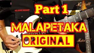 MALAPETAKA Part 1 ORIGINAL Rhoma Irama II TUTORIAL MELODI DANGDUT TERMUDAH