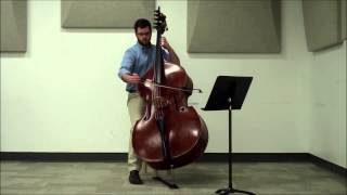 Domenico Dragonetti - Waltz No. 7 - Mike White, double bass