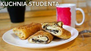 Krokiety z pieczarkami i serem za 8zł  | Kuchnia Studenta #37