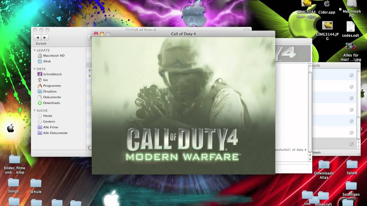 call of duty 4 bots mod mac