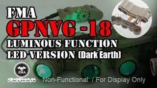 fma dummy gpnvg 18 luminous function led