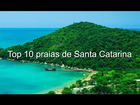 Top 10 praias de Santa Catarina