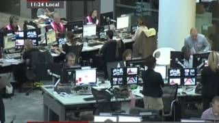 BBC World News | New BBC Newsroom at New Broadcasting House.