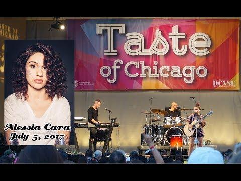 Alessia Cara Taste of Chicago 2017 Concert Vlog