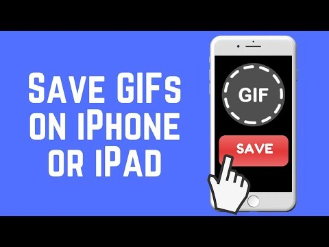 How to Save GIFs to iPhone or iPad the Easy Way 2018.