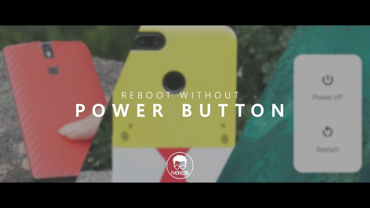 Restart Any Android Smartphone Without Power Button | Broken Power Button  |NO ROOT