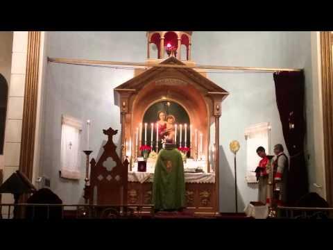 Divine Liturgy, Holy Cross Armenian Church