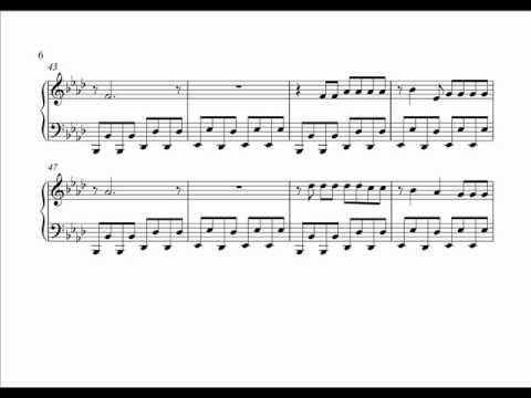 би 2 серебро ноты для фортепиано