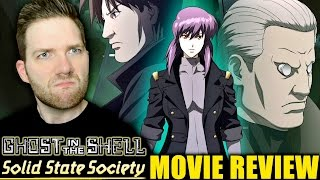 Ghost In The Shell Solid State Society Movie Review Youtube