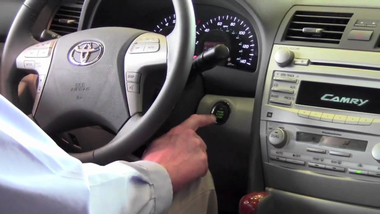 2011 Toyota Camry Smart Key How To By Toyota City