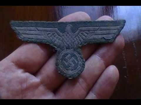 WW2 German Army Nazi breast badge combat eagle Uniform Third Reich Heer  Normandy