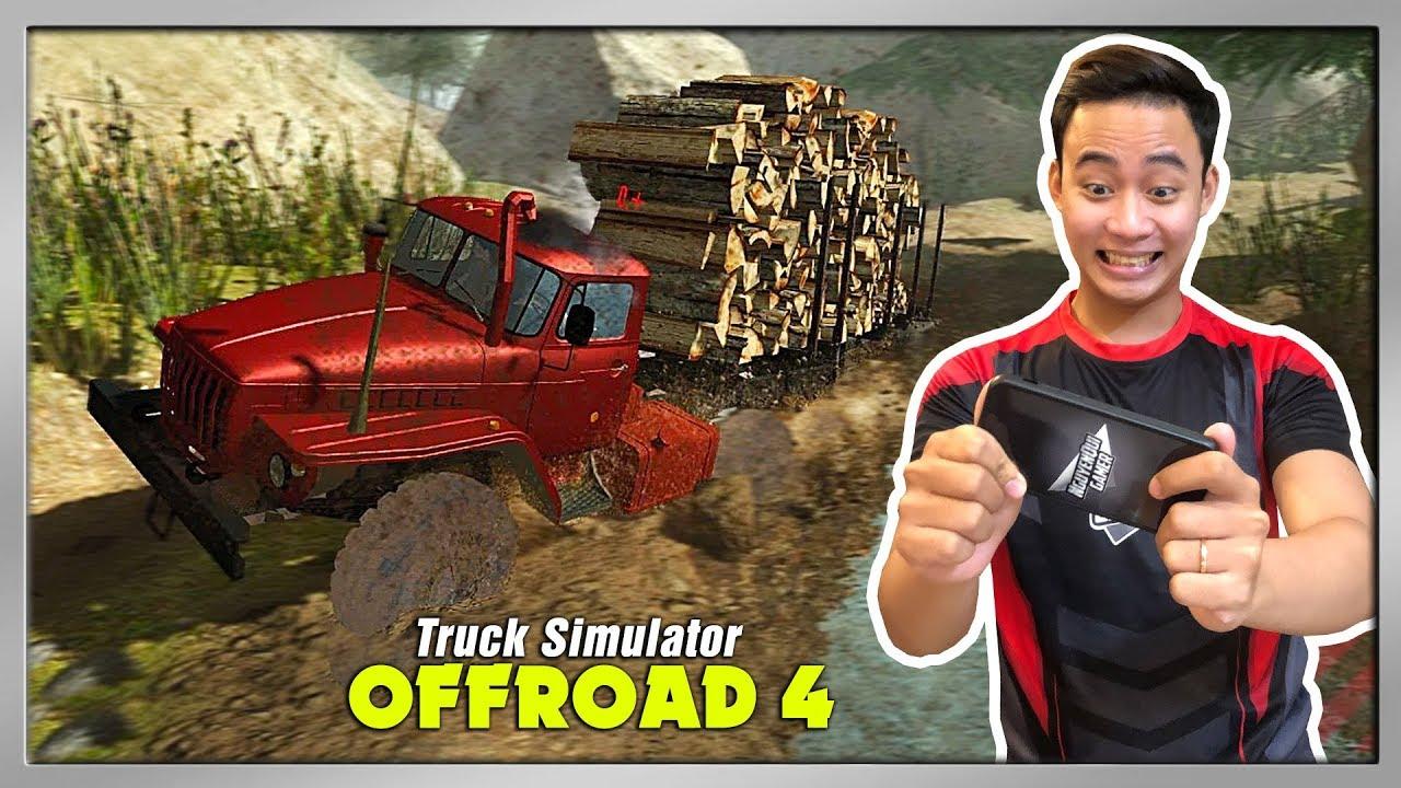 """Game Lái Xe Tải Vượt Địa Hình """"Cực Hay"""" Trên Điện Thoại   Truck Simulator Offroad 4"""