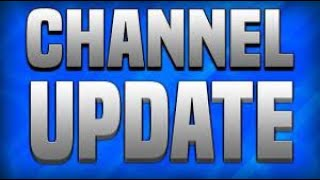 Important channel update 5 5 21