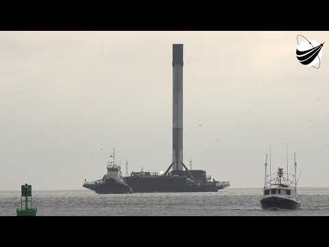 SpaceX - Demo-1 Return To Port  03-05-2019