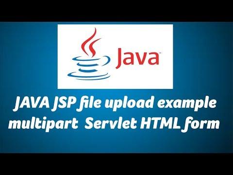JAVA JSP File Upload Example