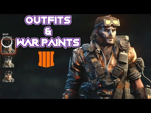 PERSONALIZED *BLACK OPS 4* SKINS - BLACK OPS THEME OUTFITS & WARPAINTS