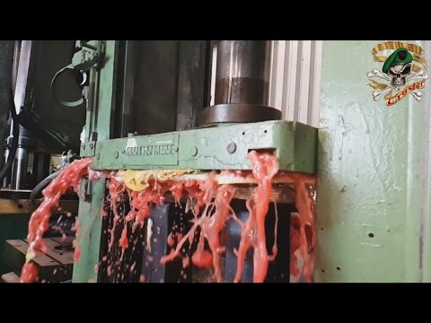 Thumbnail: The Most Satisfying Video Ever with Hydraulic press The Crusher
