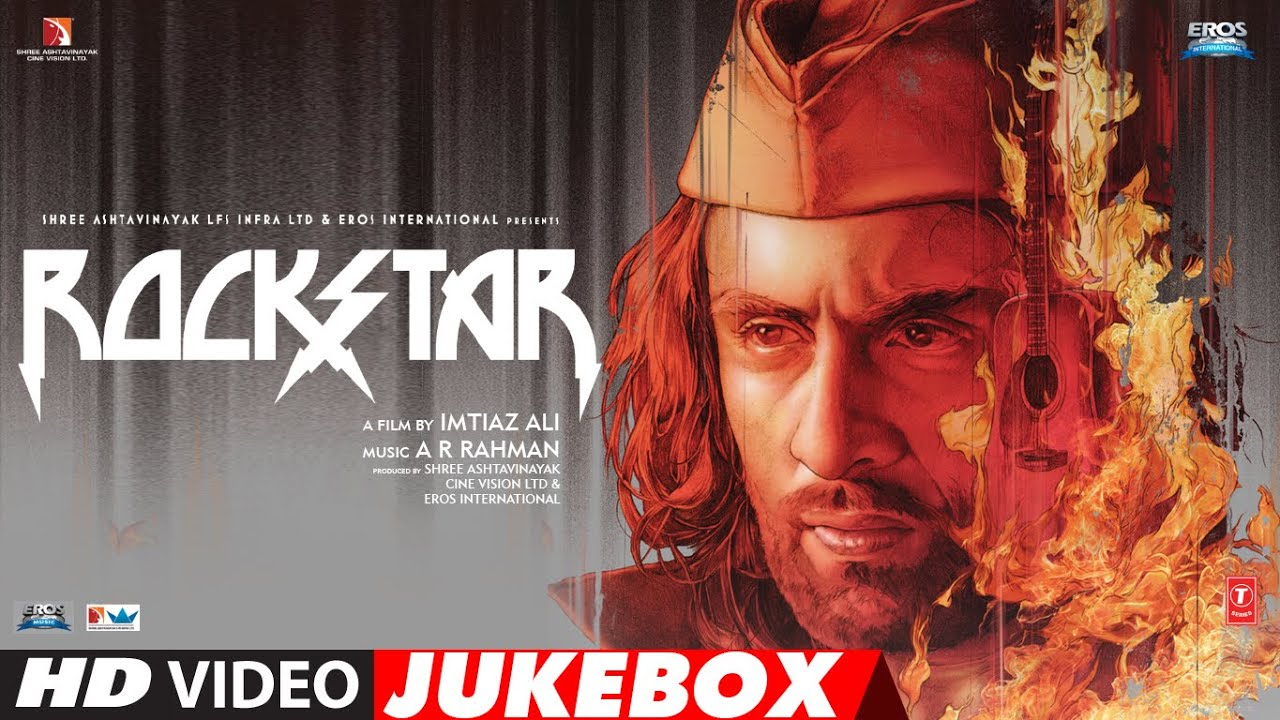"""Download Rockstar """"Full Songs""""   Video Jukebox   A R Rahman   Ranbir Kapoor, Nargis Fakhri   T-Series"""