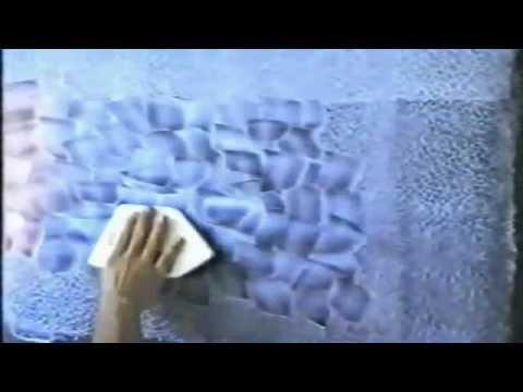 Декоративная краска своими руками.avi