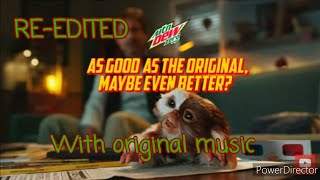 NEW gremlins mountain dew commercial re-edited with gremlins 1 and 2 theme