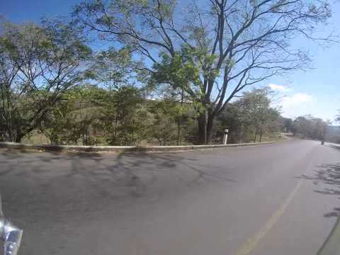 My escort out of Esteli, Nicaragua