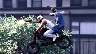 GTA V Kills,Franklin And Michael Biggest Rampage Ever(top brutal kills compilation)
