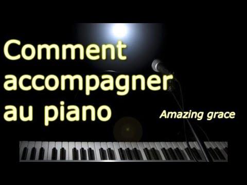 Accompagner au piano simplement - Amazing grace (extrait)