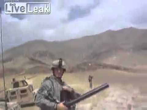 60mm Mortar Fired Handheld From The Hip