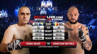 RXF 23 Sasa Dajic vs Cristian Mitrea