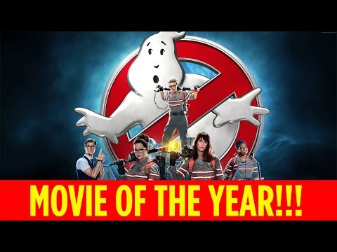 GHOSTBUSTERS VOTED FAVORITE MOVIE OF THE YEAR