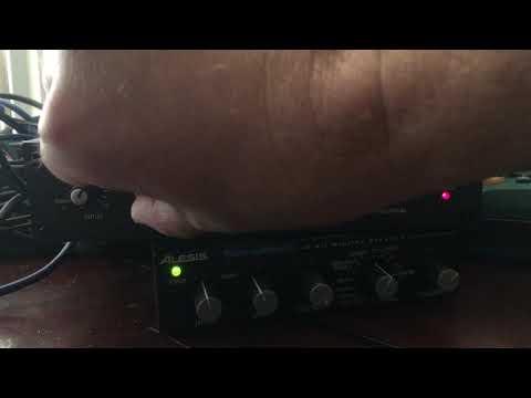 Alesis Nanoverb 2 Testing (synth)