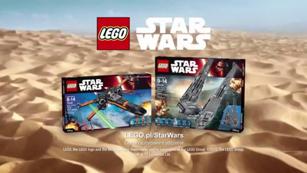 Lego Star Wars Przebudzenie Mocy Zestawy 75102 75104 Youtube