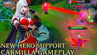 New Hero Carmilla Shadow of twilight Gameplay - Mobile Legends Bang Bang