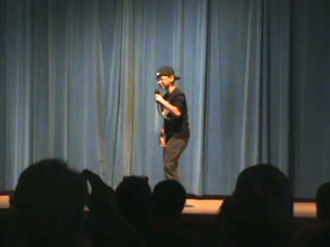 """Eric Nguyen Rapping - """"I made the honor roll""""."""