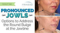 The Different Causes of Jowls Along the Jawline, and their Customized Treatments