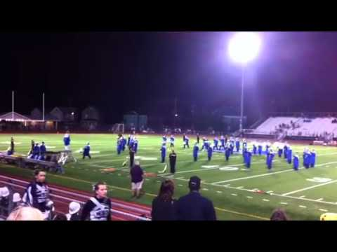 Warren Area High School Marching Band: halftime