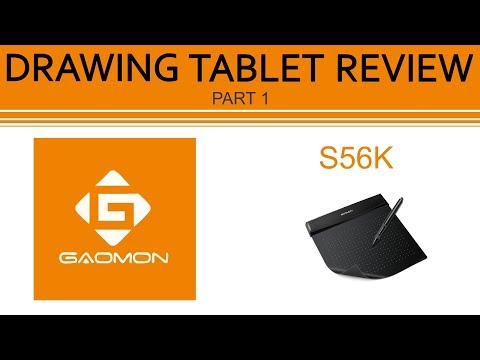 DRAWING TABLET REVIEW// Gaomon S56K  (Part 1)
