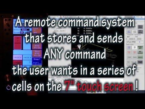 InTurn™ Remote Command Pendant for LinuxCNC/Path Pilot