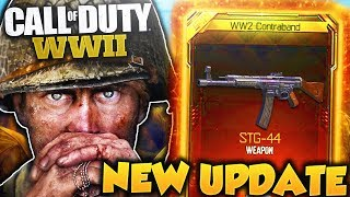 HUGE *NEW* UPDATE in COD WWII MULTIPLAYER! - NEW WEAPONS, MAPS, AND WW2 ZOMBIES GAMEPLAY LEAKED!
