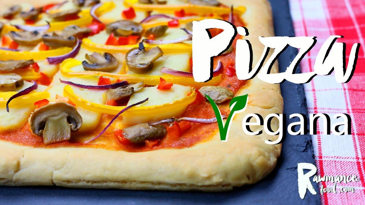 Receta pizza vegana sin gluten