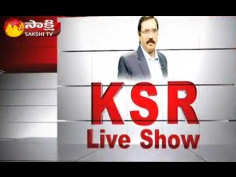 KSR Live Show: Stir Against Mallanna Sagar Project Turns Violent || 10 Injured || 25th July 2016