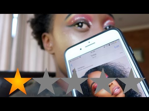 I WENT TO THE WORST REVIEWED MAKEUP ARTIST IN South Africa ||