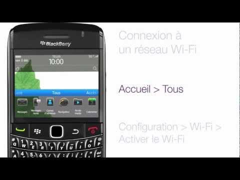 BlackBerry Bold 9780 - Connexion à un réseau Wi-Fi
