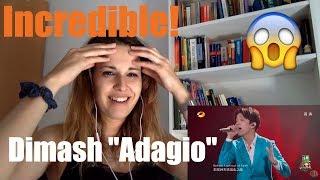 """Dimash """"Adagio"""" Video reaction"""