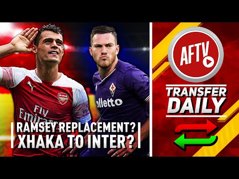 Arsenal Make Approach For Ramsey Replacement & Is Xhaka Off To Inter? | AFTV Transfer Daily