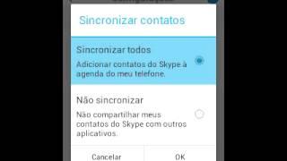 como configurar o skype para android